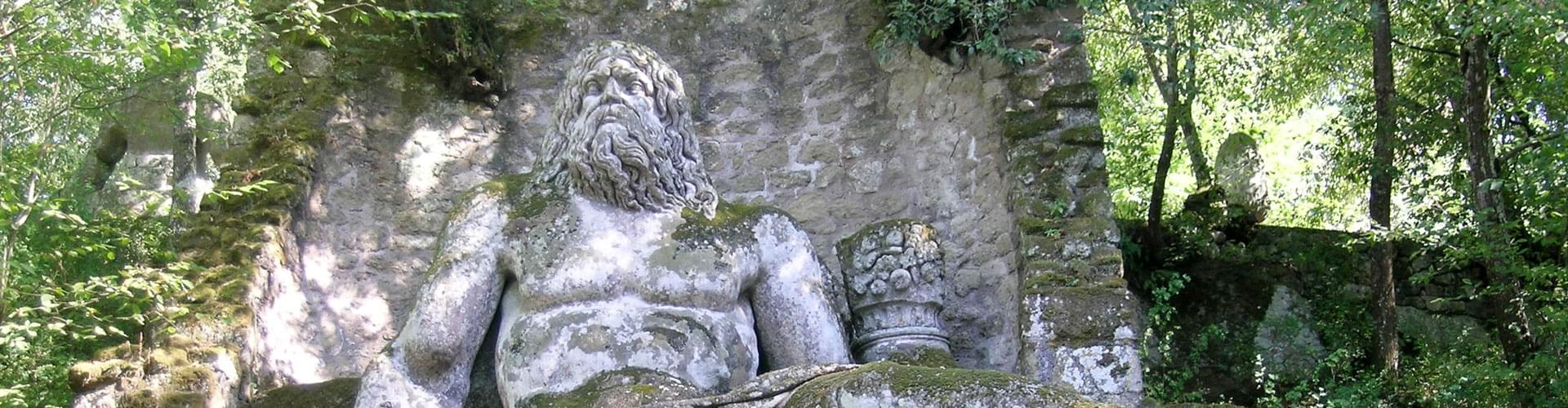 Gardens of Bomarzo, Parco dei Mostri, Monster Park, Sacred Forest, Villa of Wonders