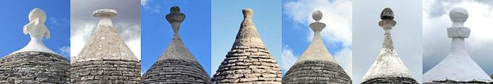 Trulli, trullo, construction of trulli, building a trullo, trullo symbols, trulli in puglia, history of trulli, trullo conical roof, trullo cones